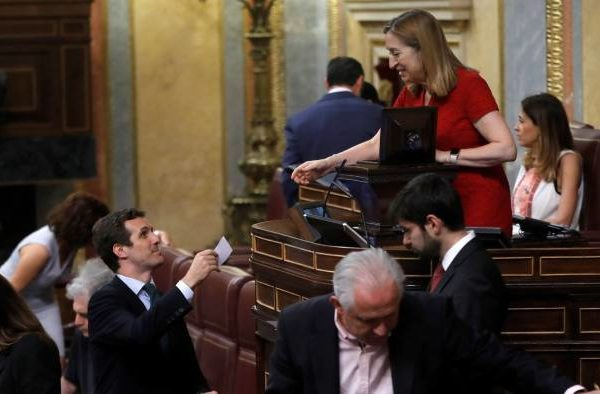 Spain's Socialist government loses first major parliamentary vote