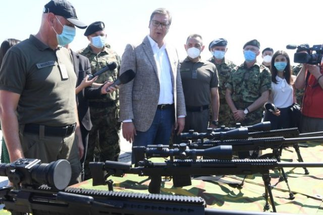 Serbian government first flaunts, then denies having sold weapons to both Armenia and Azerbaijan
