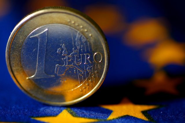 Euro zone economic sentiment hits near 5-year low, but services up